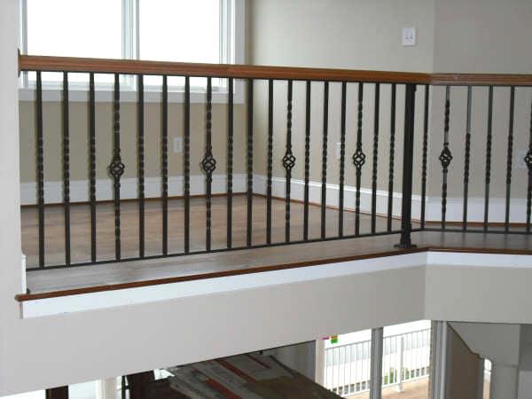 Affordable railings interior steel aluminum railing