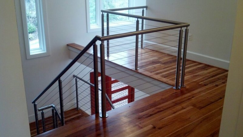 Affordable Railings  Interior Cable Railing  MD, VA, DC, PA